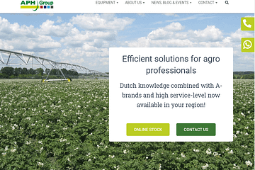New APH Group website