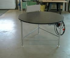 Rotating table
